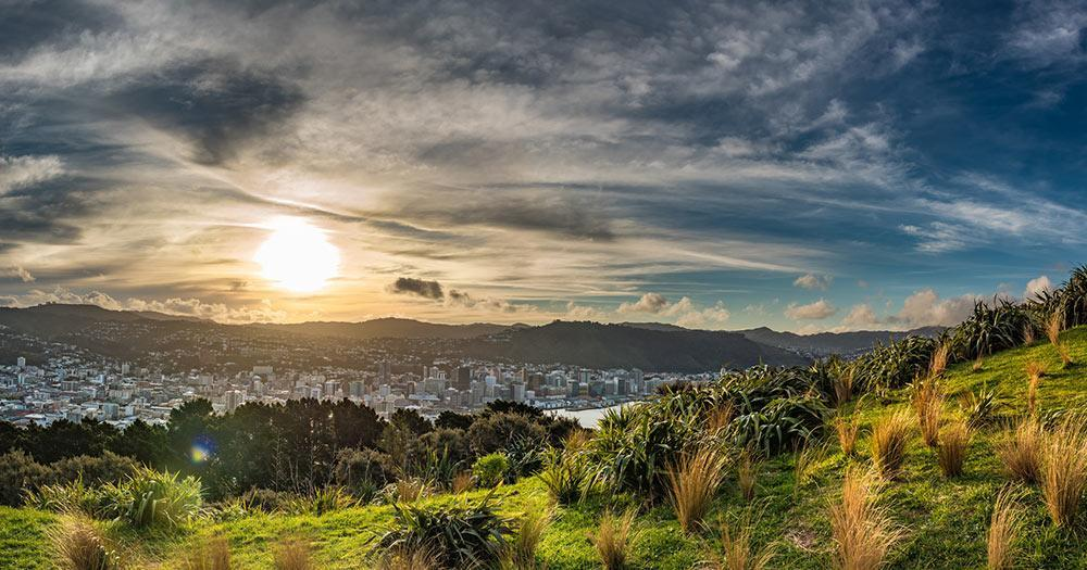 Wellington - Landschaft rund um die Stadt