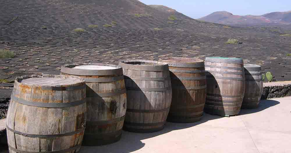 Lanzarote - Fässer