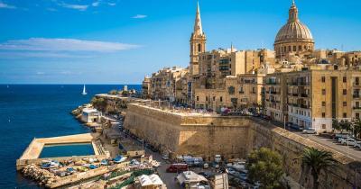 Malta -  die Hauptstadt Valletta