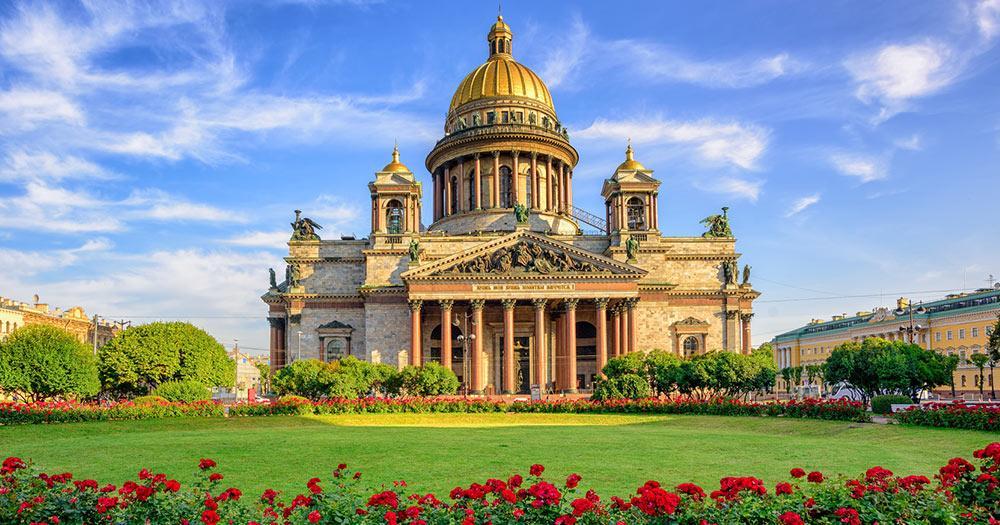 Sankt Petersburg - St. Isaac Kathedrale