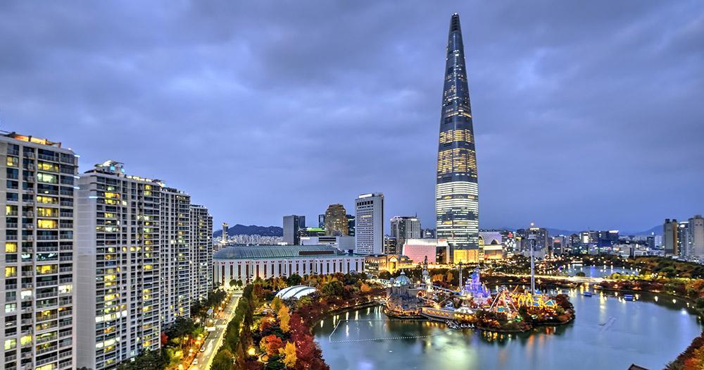 Seoul - Blick auf die Stadt