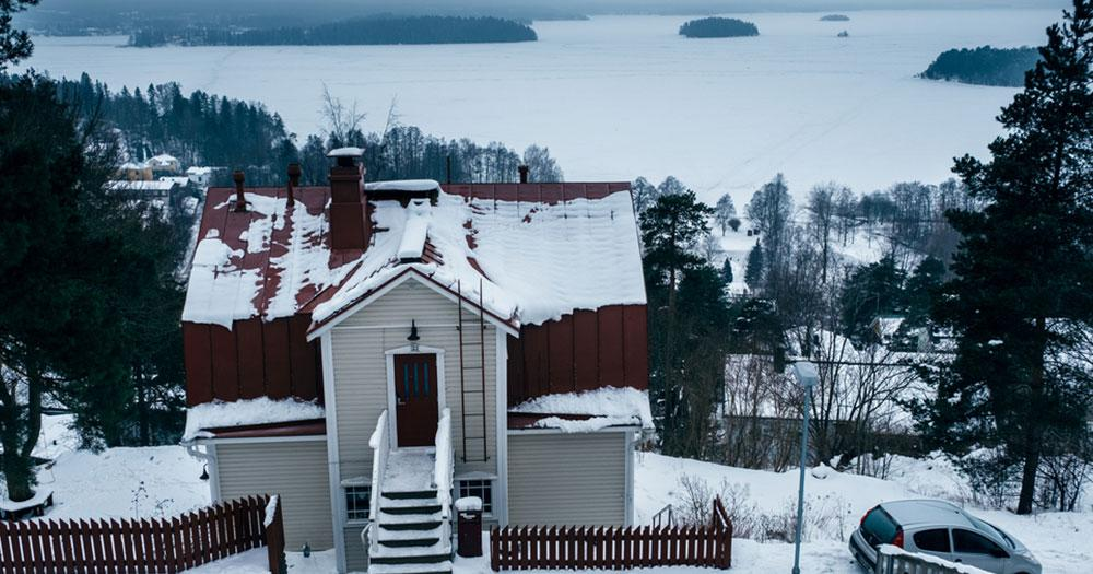 Tampere - Winterlandschaft