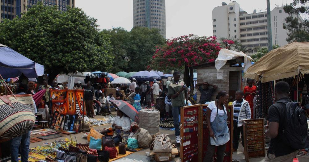 Nairobi - Masai Markt