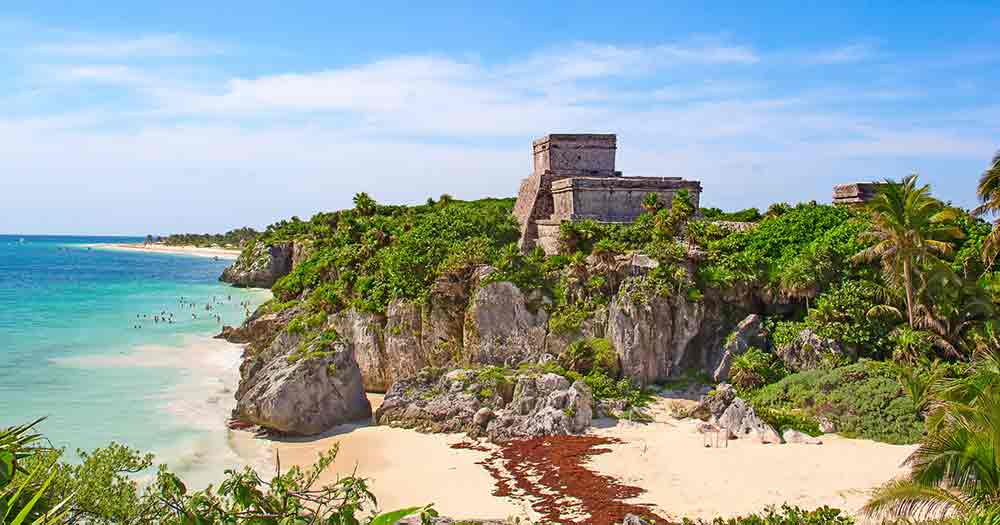 Tulum - Maya Ruinen