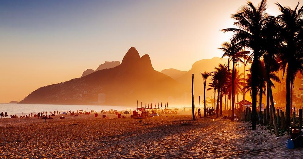 Rio de Janeiro - Ipanema Strand