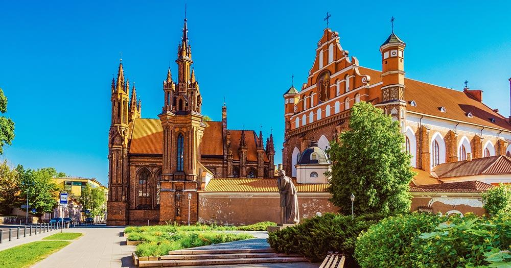 Vilnius - die St. Annen Kirche