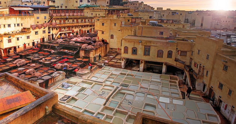 Fés - Über den Dächern der Altstadt