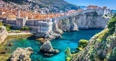 Dubrovnik -  Hafenfestung