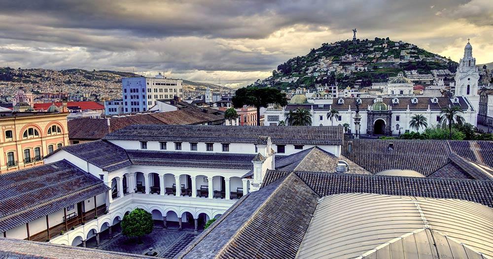Quito - Die Dächer der Altstadt