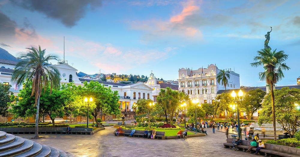 Quito - Piazza Grande