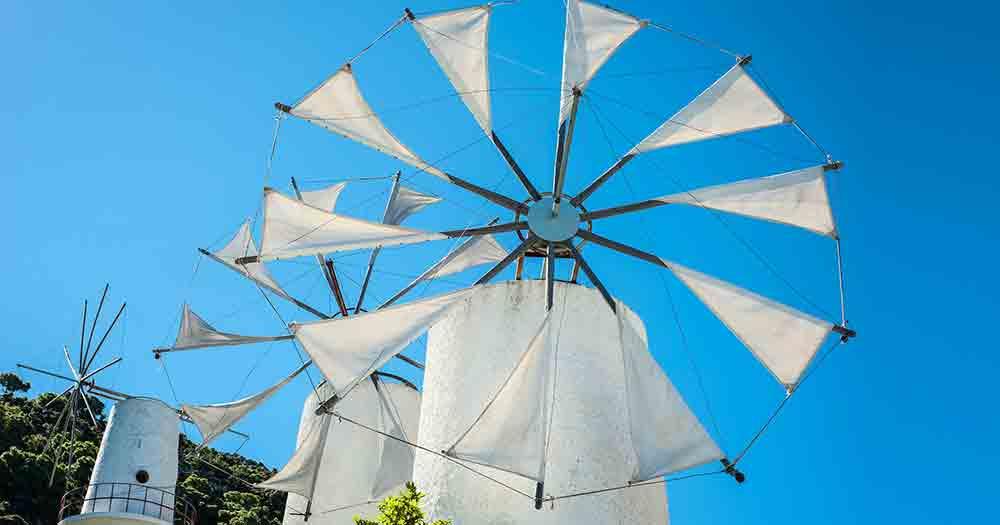 Kreta - Windmühle