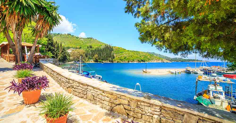 Kreta - Boote und Meer