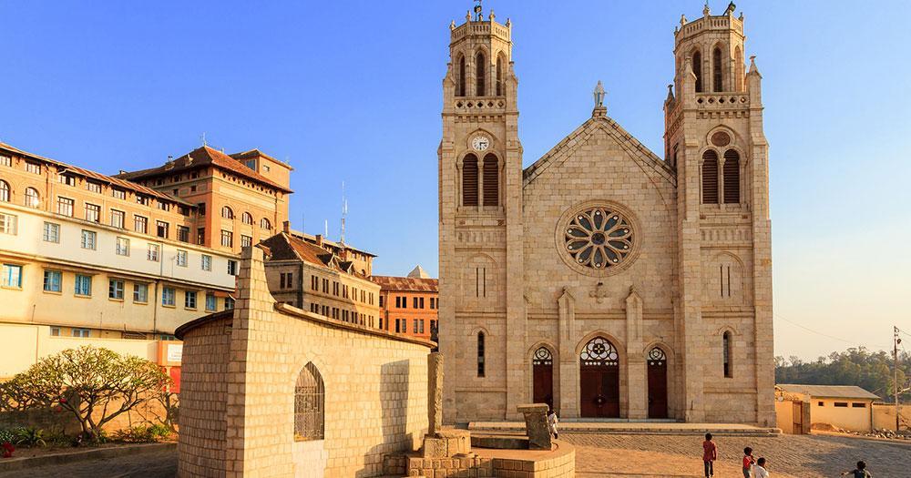 Antananarivo - Andohalo Kathedrale