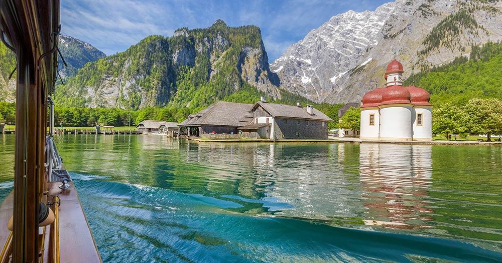 Berchtesgarden - eine Bootsfahrt am Köinigssee