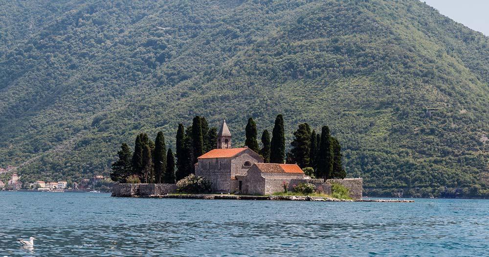 Kotor - Sveti Dorde Insel