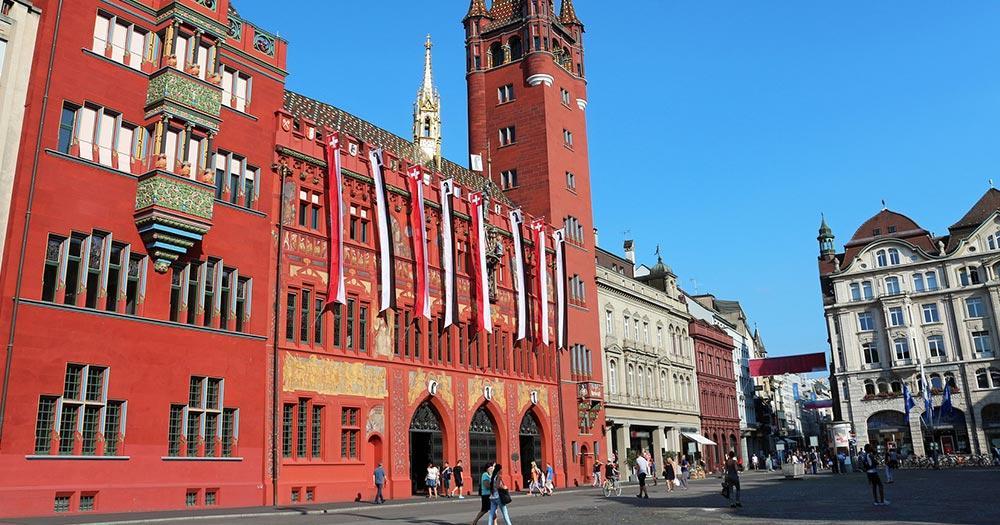 Basel - das Rathaus