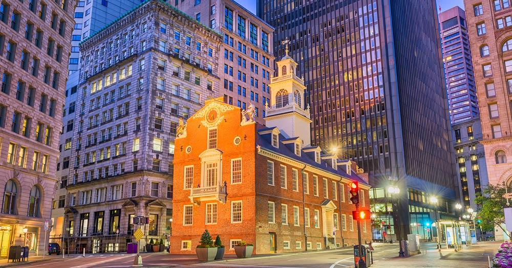 Boston - old state house
