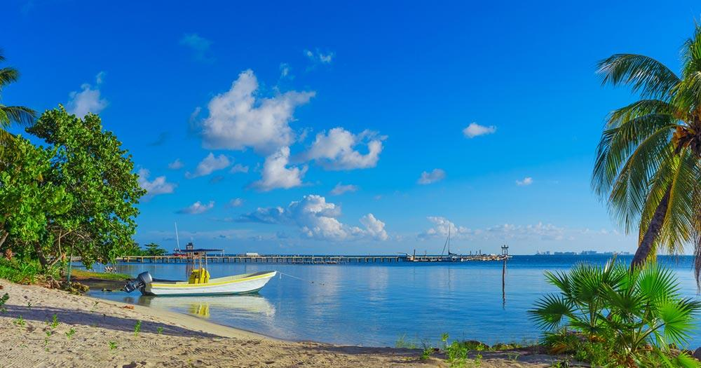 Isla Mujeres - tropischer Strand