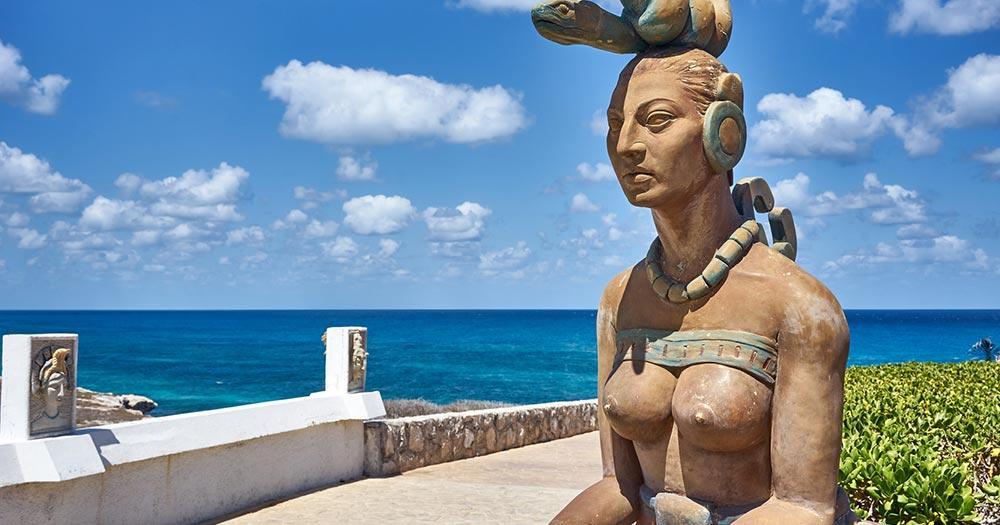 Isla Mujeres - Ixchel Göttin der Maya