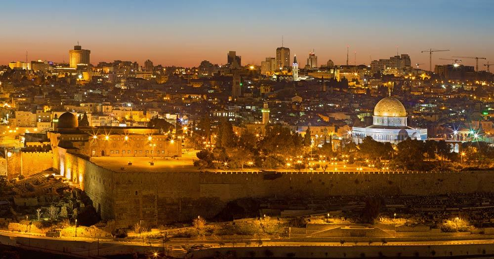 Jersusalem - Panoramablick