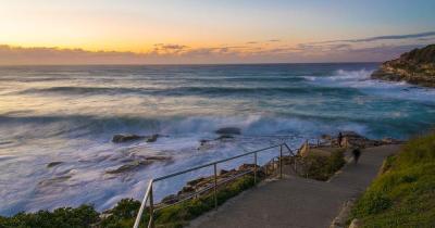 Bondi Beach - bei Sonnenaufgang