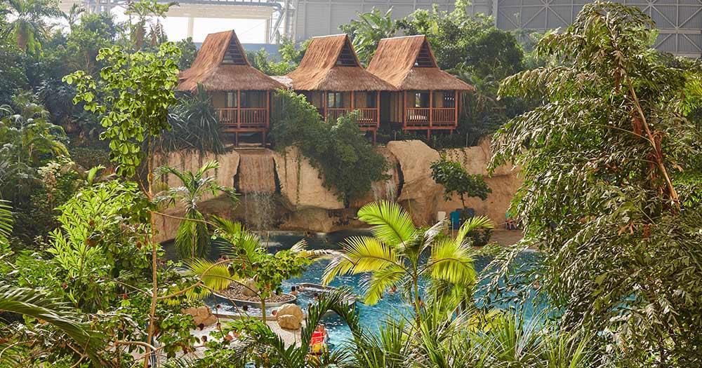 Tropical Islands -  Wasserfall Junior Suiten