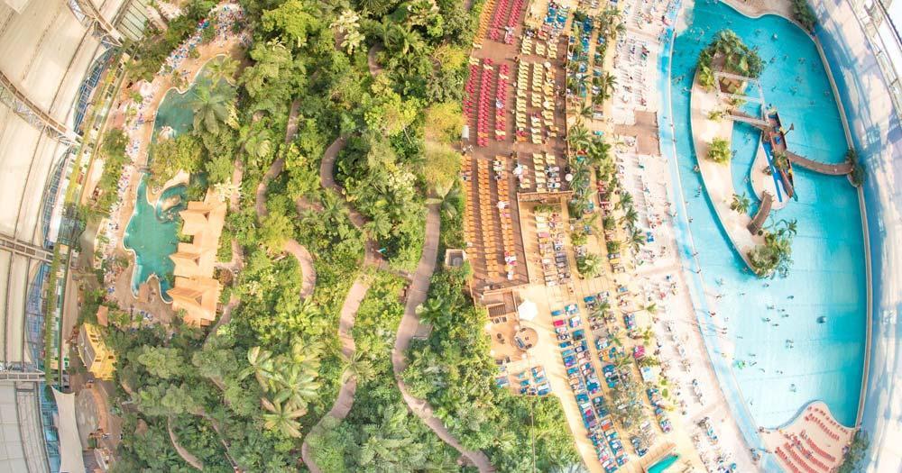 Tropical Islands - Blick vom Ballon