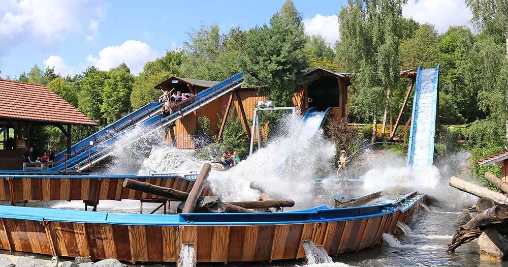 Bayern-Park - Wildwasser Bahn