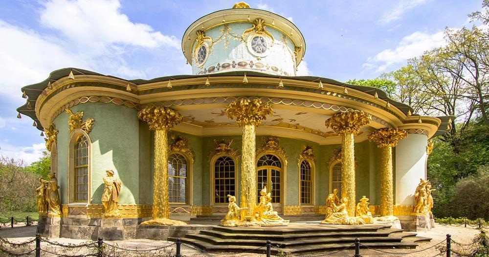 Potsdam - Teehaus in Sans Souci