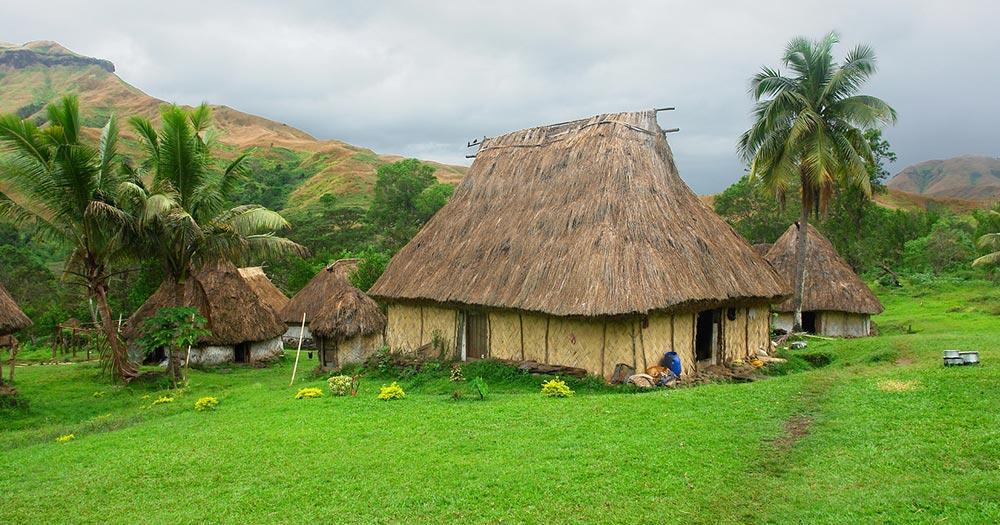 Fidschi Inseln - Navala Village
