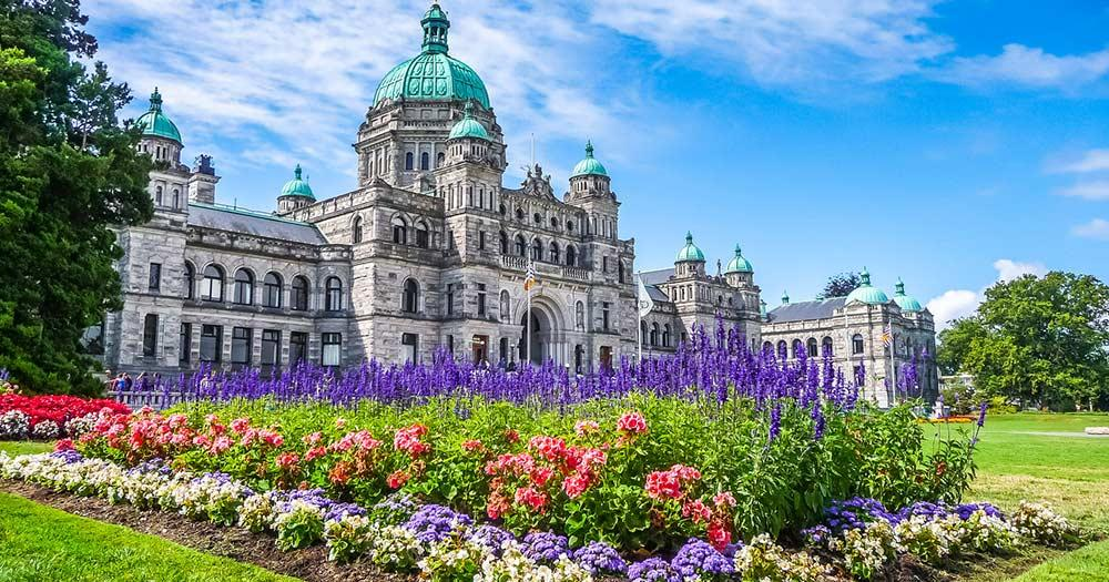 Victoria - historisches Parlament