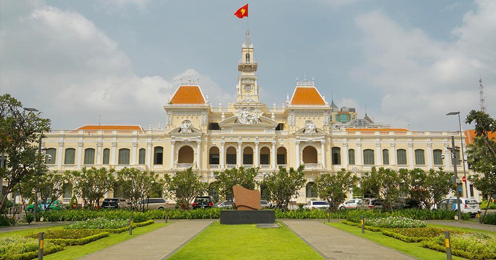 Ho-Chi-Minh-Stadt - Rathaus