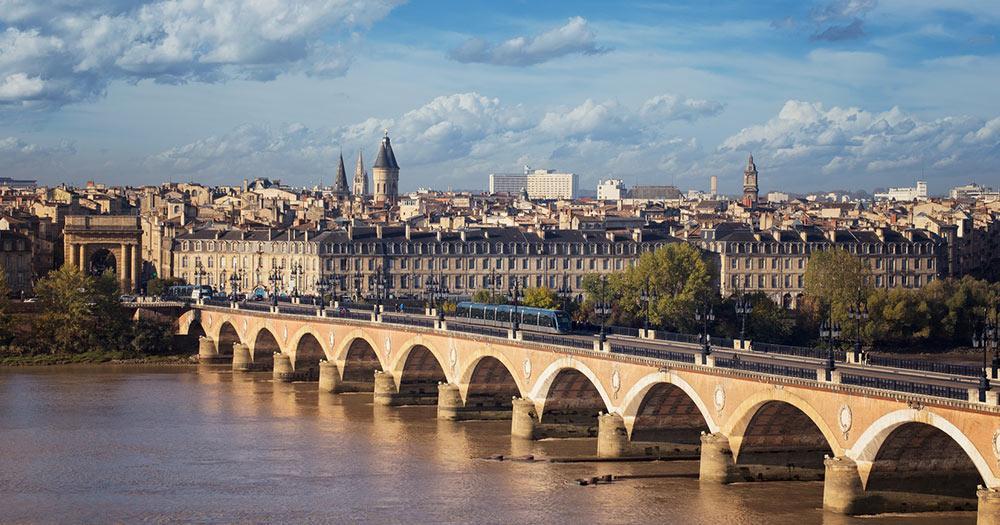 Bordeaux - vue d'en haut