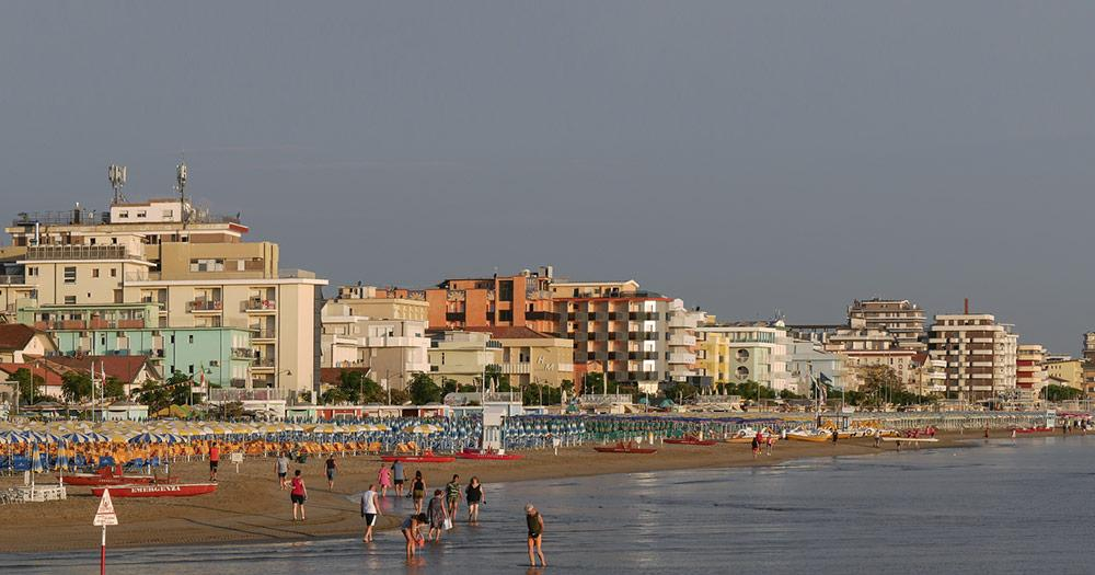 Rimini - Strandpanorama