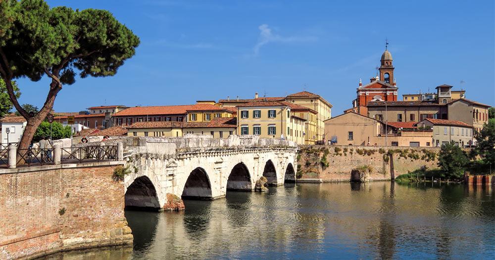 Rimini - Tiberius Brücke