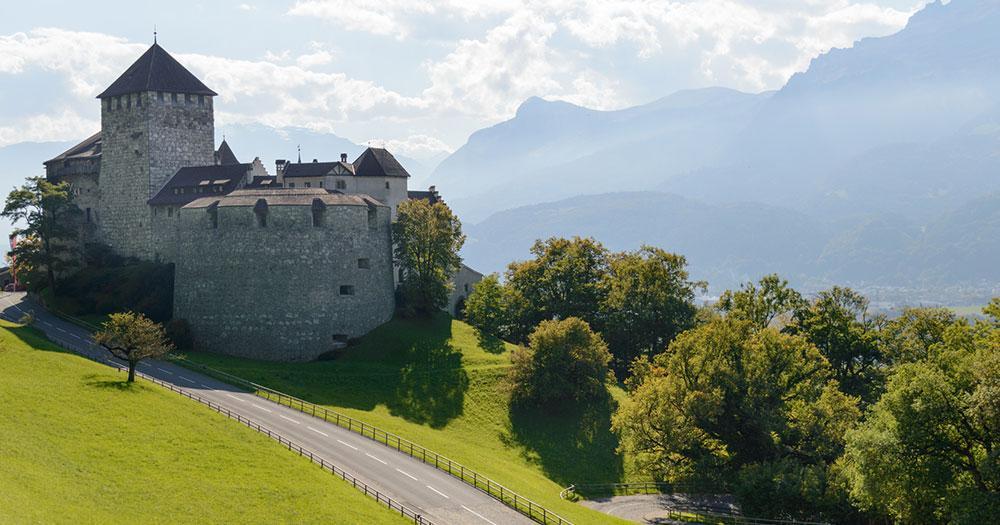 Liechtenstein - Die Burg von Vaduz