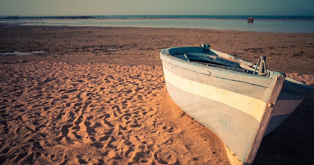 Praia - Fischerboot