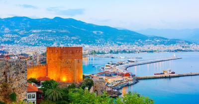 Alanya - Blick auf den Hafen