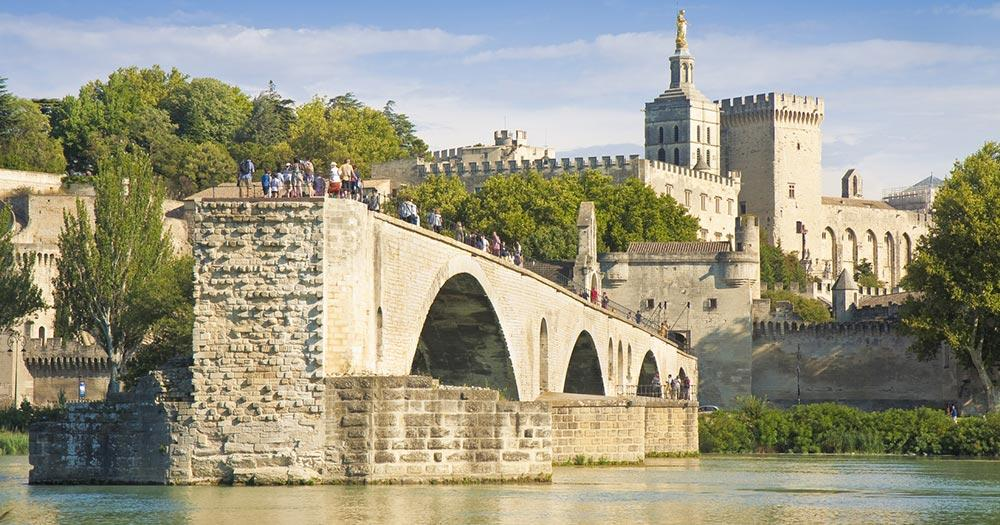 Avignon - Blick über die Altstadt