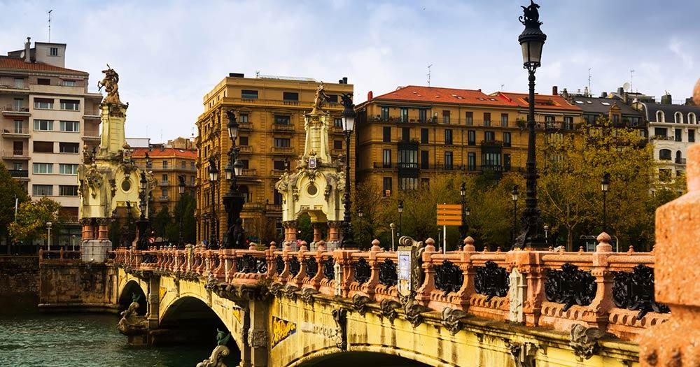 San Sebastian - Maria Christina Brücke