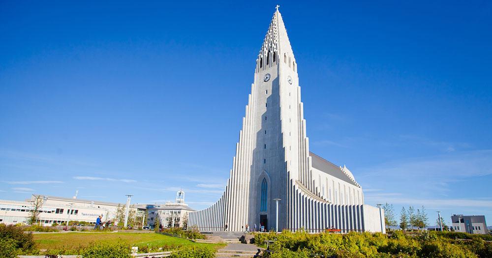 Reykjavik - Kirche Hallgrímskirkja