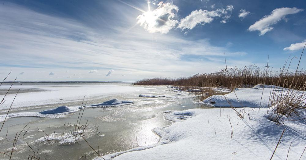 Chiemsee - Im Winter