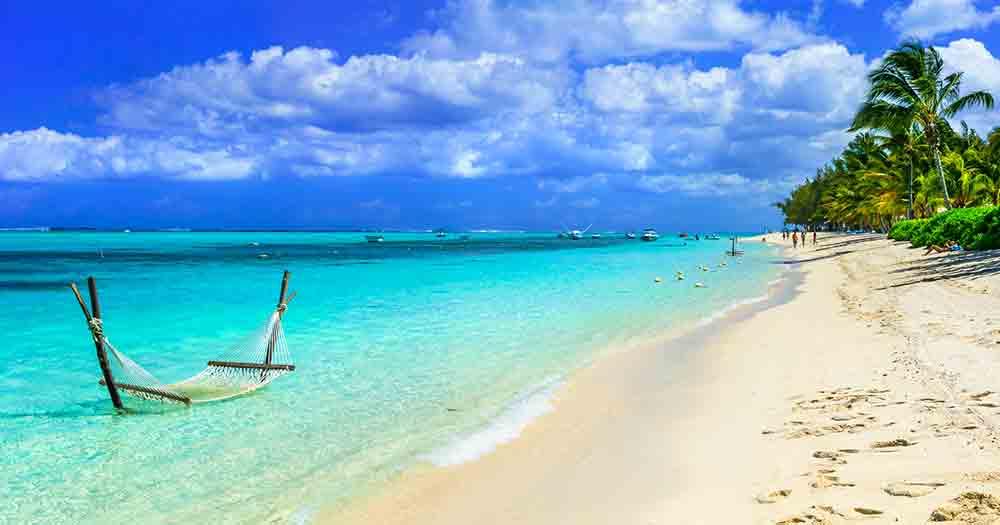 Mauritius - Blick auf den traumhaften Strand