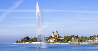 Bodensee - Schlosskirche, Friedrichshafen
