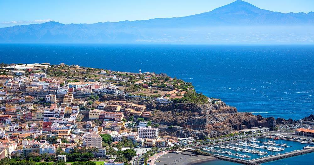 La Gomera - Blick auf San Sebsatian