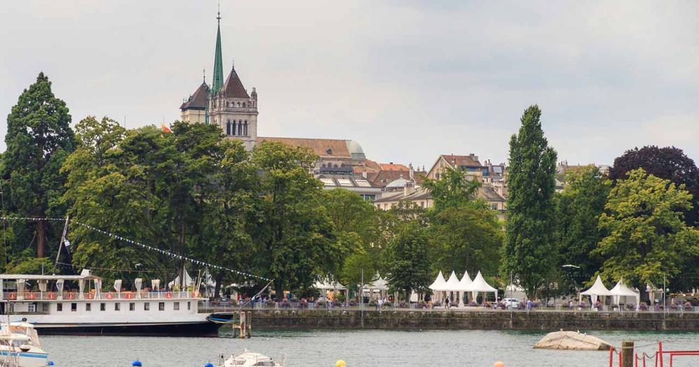 Genf - Skyline