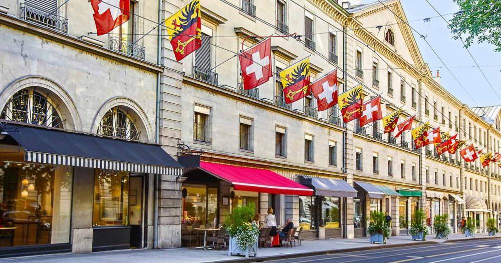 Genf - Einkaufsstraße