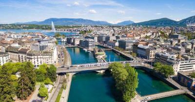 Genf - Blick zu See