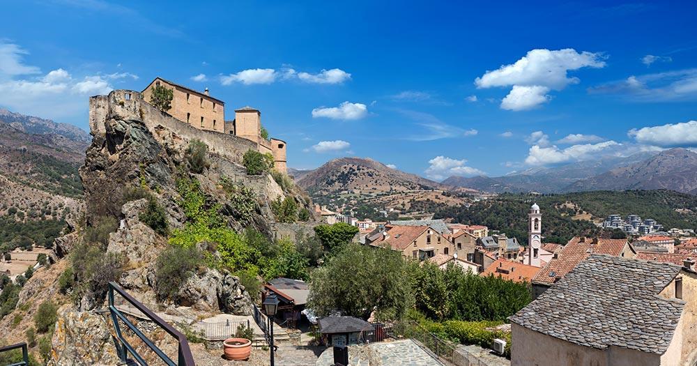 Korsika - Zitadelle von Corte