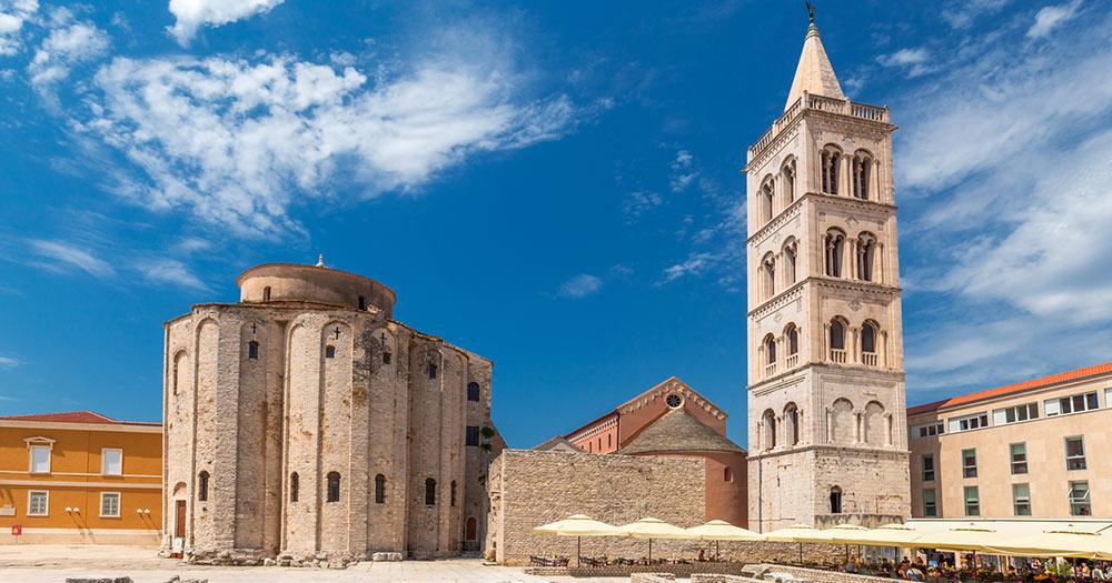 Zadar - historischer Stadtkern